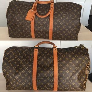 100% Authentic Vintage Louis Vuitton Keepall 55